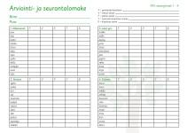 KPL-arviointilomake