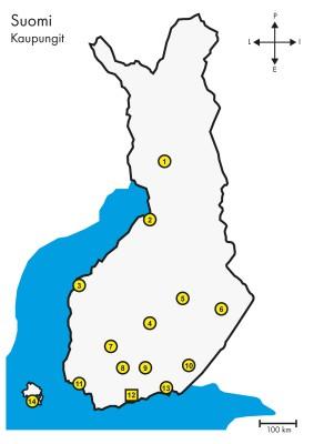 Kaupungit Suomi